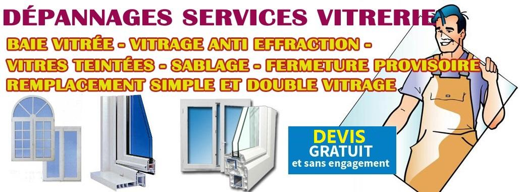Vitrier Villeparisis, 77  - Etablissement double vitrage renovation Villeparisis 01.64.949.951